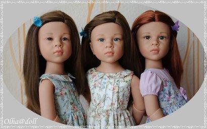 Эмилия, Оливия и Катарина