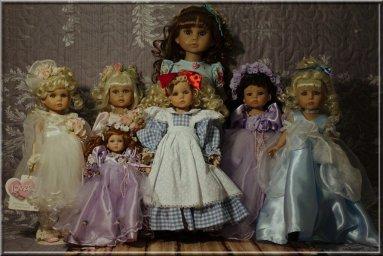 Куклы Линды Рик