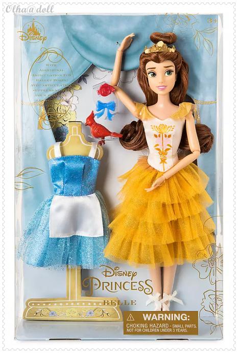 Belle Ballet Doll