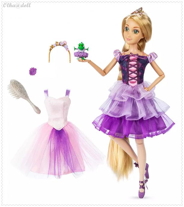 Rapunzel Ballet Doll