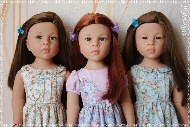 Оливия, Катарина, Эмилия